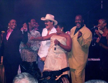 Freddie Jackson, Eric Floyd, Randy Jones, Sharon Paige, Donnell Gillespie, Kathy Sledge