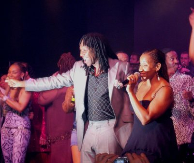 Nile Rodgers and Kathy Sledge